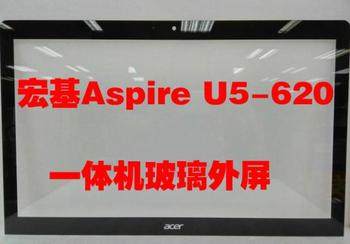 """100% new original 23"""" inch glass All-in-one outside the screen front frame glass panel For Acer U5-620 glass"""