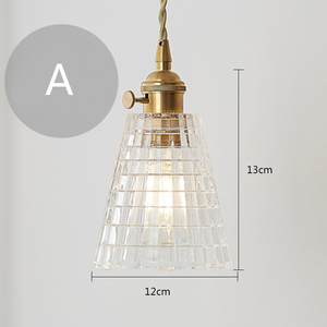 Image 2 - נורדי פשוט נחושת יחיד ראש יצירתי תליון אורות סלון חדר האמבטיה חדר שינה מסעדת קפה בר בגדים
