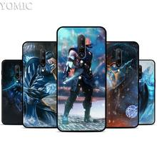 Mortal Kombat kitana Silicone Case for Oneplus 7 7Pro 5T 6 6T Black Soft Case for Oneplus 7 7 Pro TPU Phone Cover