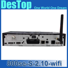 5pc/lot Dm800se Wifi internal hd Satellite TV Receiver Enigma2 linux os Sim2.10 Bcm4505 Tuner dm 800se Decoder free by DHL