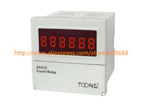 Digital electronic counter ZYC72 4(JDM9 4) AC/DC24 260V addition count wide voltage variety of counting method JDM9