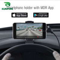 Smartphone Holder with MDR App As Car DVR Camera Dash cam And 3 in 1 Ultra Fast USB Car Charger driving recorder