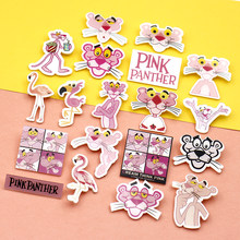 Nengdou Y56 cartoon pins for clothes flamingos icon kawaii brooch anime badges cute backpack icon bag decoration acrylic badges(China)