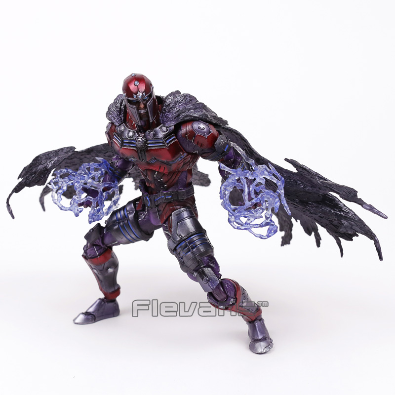 Marvel Universe VARIANT PLAY ARTS KAI X-men Magneto PVC Action Figure Collectible Model Toy 25cm marvel avengers chess captain america pvc action figure collectible model toy 15cm hrfg462