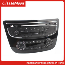 Air conditioning switch panel cd Audio adjustment Bluetooth button Suitable for Peugeot 508 508sw