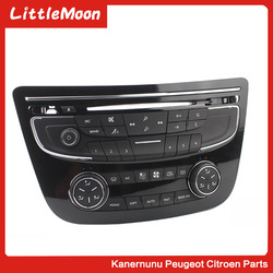 Przełącznik klimatyzacji panel klimatyzacji przełącznik cd regulacja dźwięku przycisk Bluetooth nadaje się do Peugeot 508 508sw