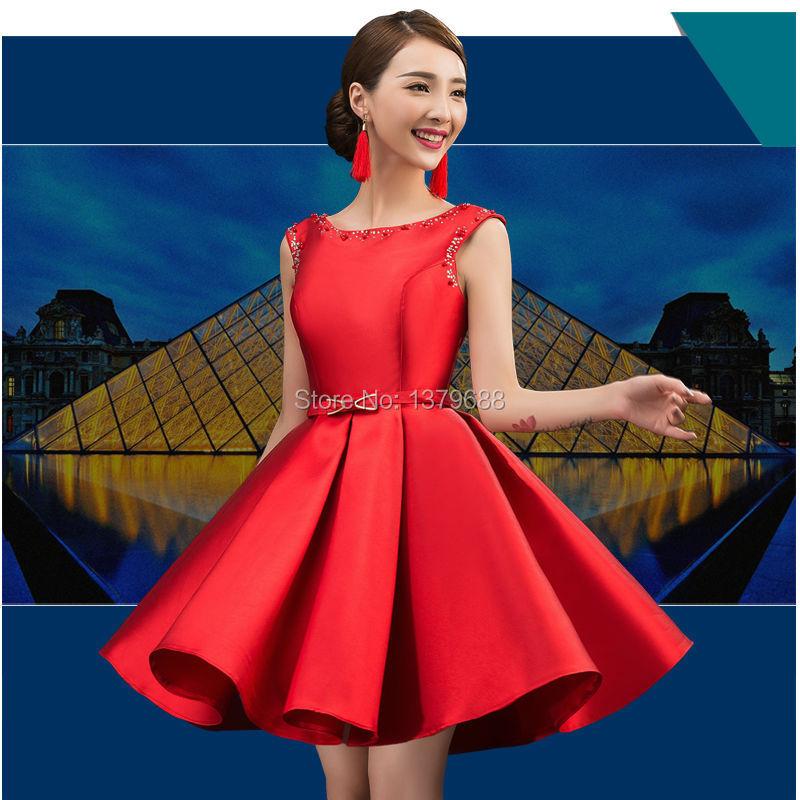 2015 new design Cocktail Dresses short sexy dress beading dress lace ...