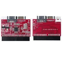ACEHE hafif dayanıklı IDE HDD SATA seri ATA dönüştürücü adaptör sabit Disk sürücü desteği ATA 133 100 HDD CD adaptörü