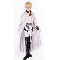 Anime Owari Pas Séraphin Mikaela Cosplay Costume Séraphin De La Fin Vampire Mikaela Hyakuya Costume Ensemble Complet Perruque En Option