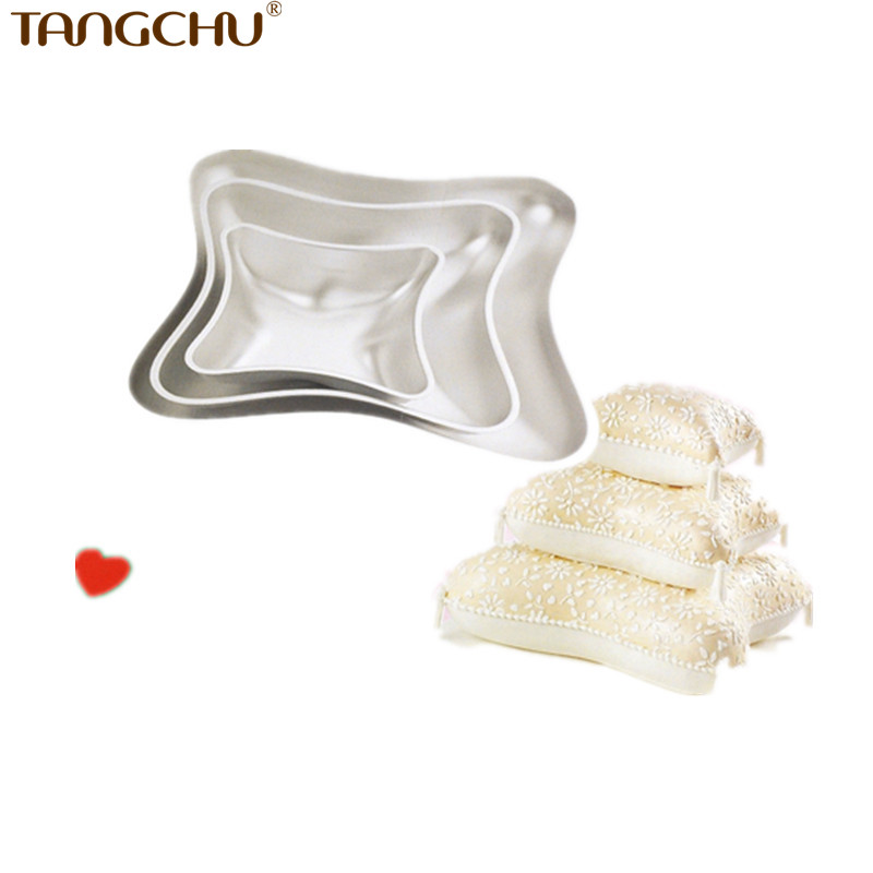 Wedding Cake Decoration Molds : Aliexpress.com : Buy Party Hot Sell Sponge Pillow Shape ...