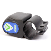 3 Stks van (Goede Deal anti-diefstal Fiets Lock Draadloze Afstandsbediening Trillingen Alarm (Kleur: zwart))