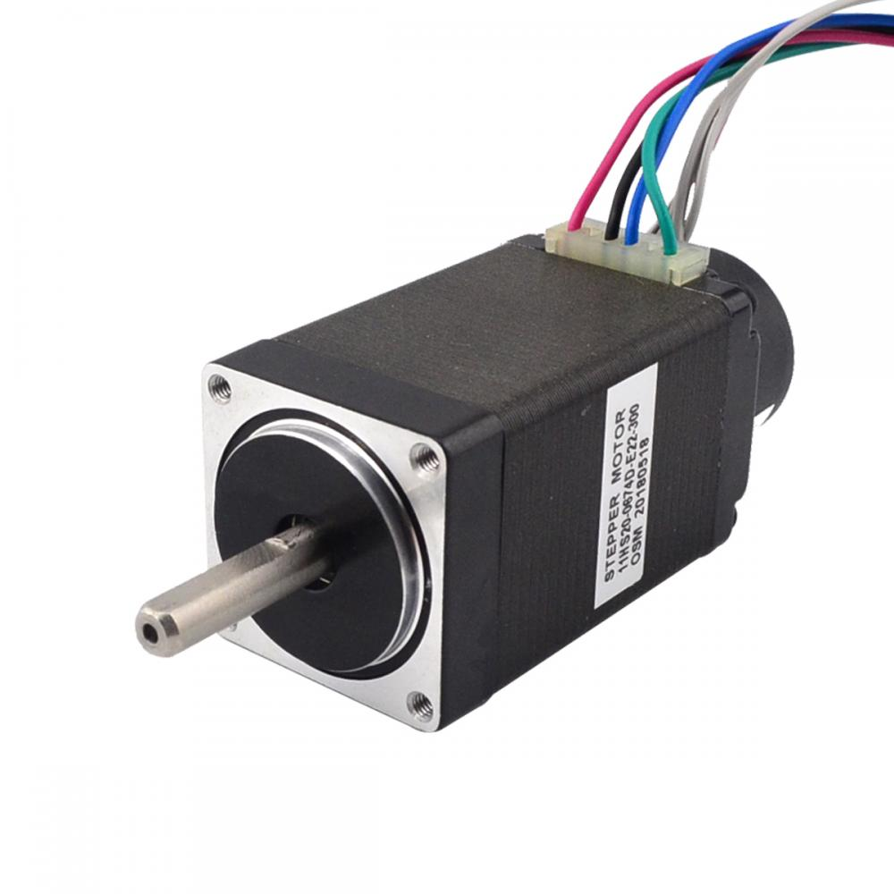 Nema 11 Closed Loop Stepper Motor 12Ncm Encoder 300CPR 0.67A 2-phase Hybrid Nema11 Step MotorNema 11 Closed Loop Stepper Motor 12Ncm Encoder 300CPR 0.67A 2-phase Hybrid Nema11 Step Motor