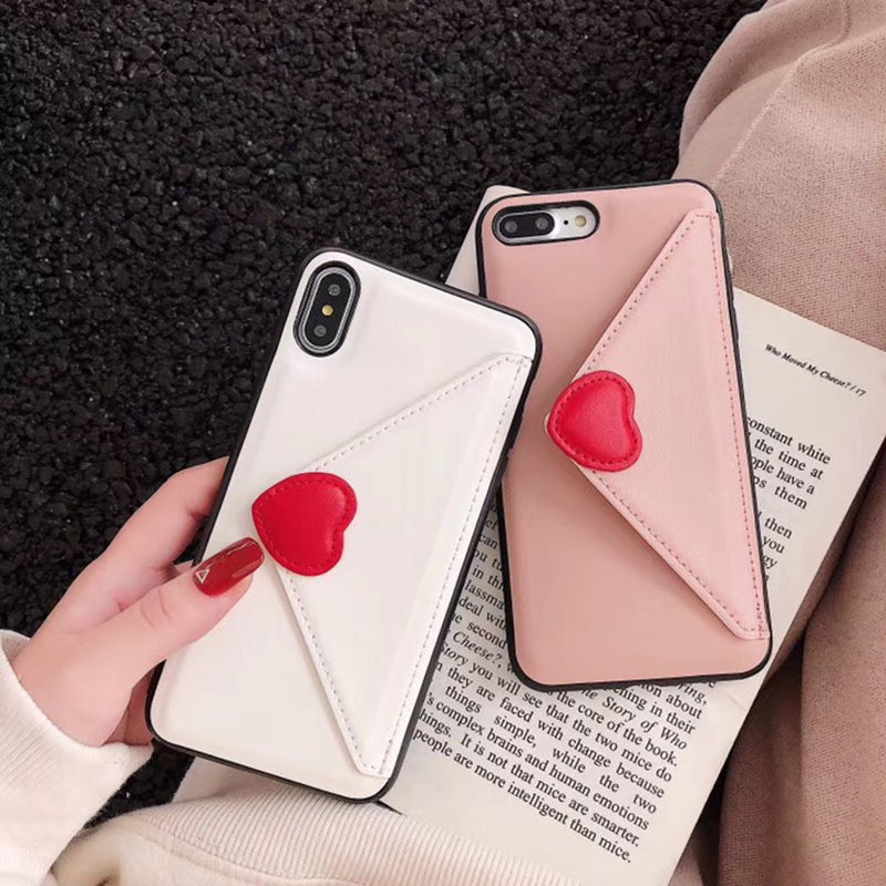 Capa For Samsung S10Plus S10e <font><b>Case</b></font> <font><b>Korean</b></font> Love Heart Flip Leather Stand Cover For <font><b>iPhone</b></font> 11 Pro Max X <font><b>Xr</b></font> Xs Max 7 8 6S Plus <font><b>Case</b></font> image