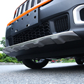 Apto Para Jeep Renegado 2015-2017 Front + Rear Bumper Difusor para Choques Lip Guard Protector skid placa de aço Inoxidável 2PES