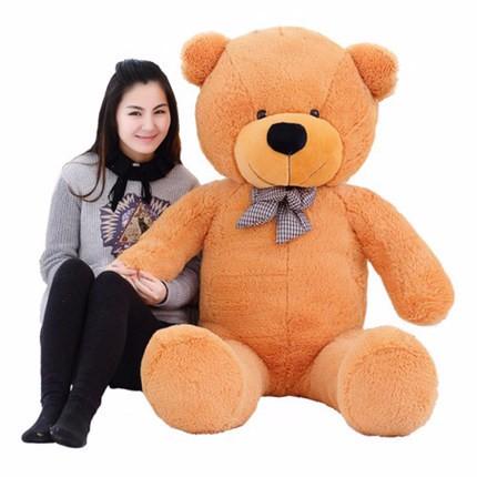 HTB1WrNDKXXXXXb9XFXXq6xXFXXXx - 100CM Hug Teddy Bear Urso De Pelucia Plush Stuffed Animal Dolls