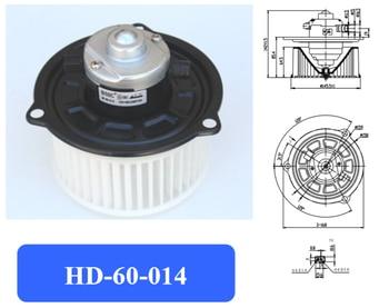Motor de soplador de aire acondicionado automotriz/ventilador electrónico/motor de soplador de ciudad/motor de soplador de carter