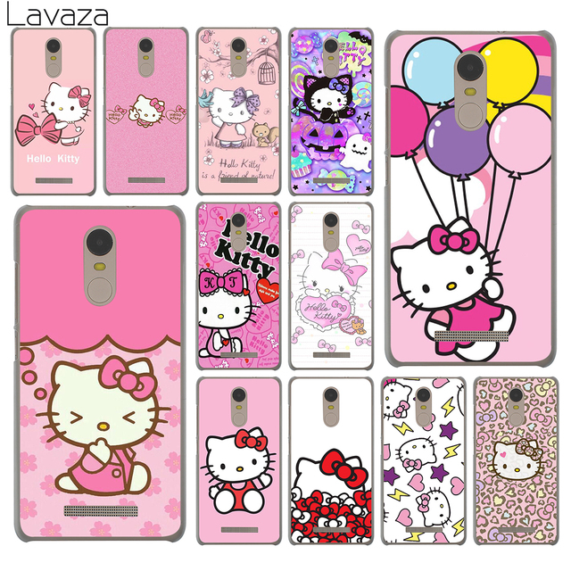 new product d589f 30f3c US $2.55 |Lavaza lovely cute Hello Kitty pink Hard Phone Case for Xiaomi  Redmi 4A S2 6A Note 7 5 Plus 4 4X 6 Pro 5A Prime Cover-in Half-wrapped Case  ...