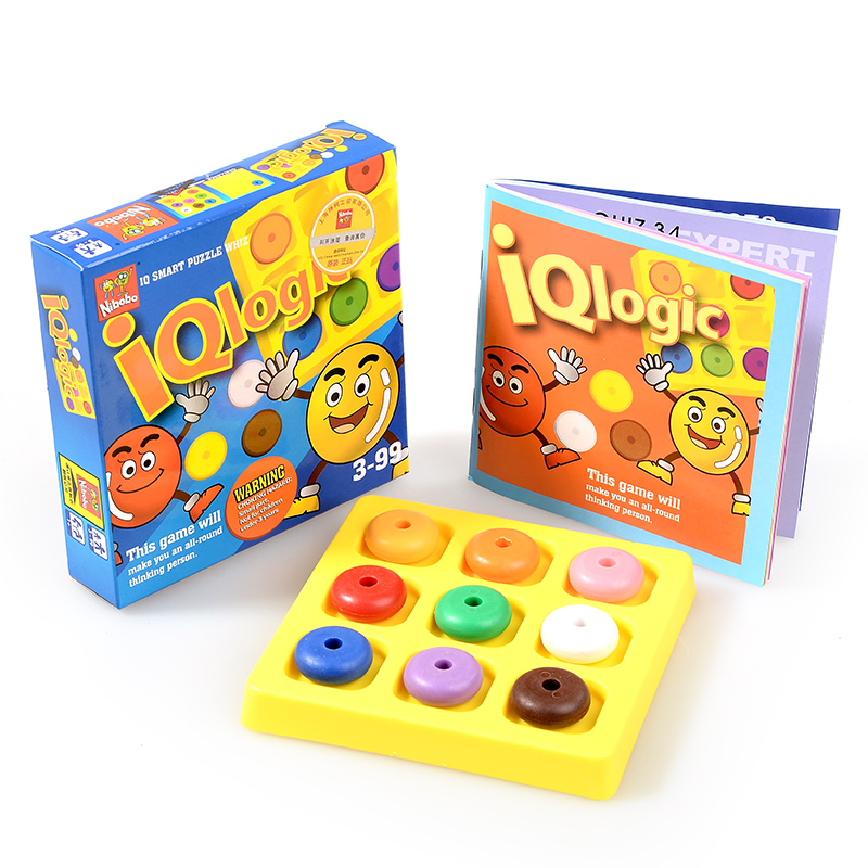 IQ Logic Puzzle Kids Educational Mind Brain Teaser Game Gift For Children