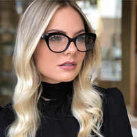 Women Designer Optical Eyeglasses Prescription Stylish Female Spectacles for Glasses Optical Frame Fashion Styles 95154 Eyewear