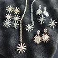N2016062404 nuevo 2016 de Corea Del diseño Christams Vacaciones de nieve de lujo del collar de la flor de Sun descendientes de la joyería para las mujeres regalo barato