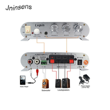 High Quality Car Amplifier LP-838 12V Smart Mini Hi-Fi Stereo Audio for Home Auto MP3 MP4 Boat Motorcycle