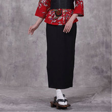 high quality women Japan Style bottoms Chef  hotel Kimono work wear  waiter Chef uniform women Korean Restaurant work clothes