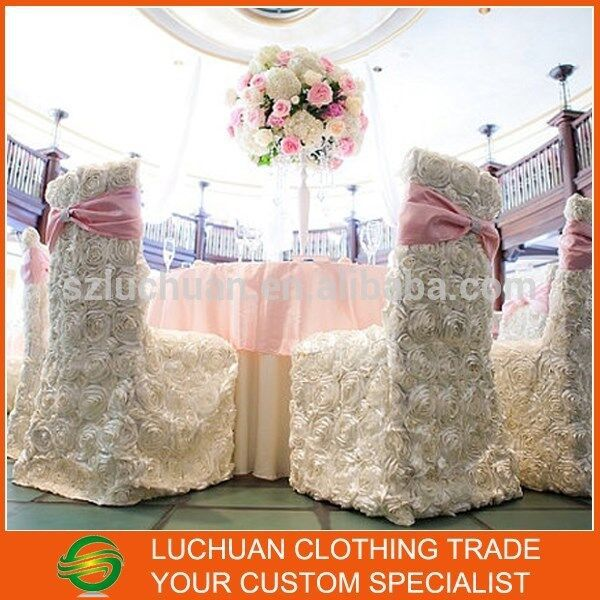 Wedding Chair Covers Wholesale China Swing Home Center Popular Rosette Covers-buy Cheap Lots From ...
