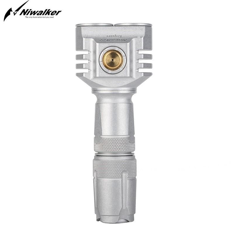Niwalker Taser Shock Flashlight Choque Defesa Pessoal Self Defense 3500 Lumen 18650 Linterma Led MM6S(cG)303LT Mini Rechargeable