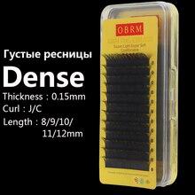 eyelash extension individual lashes supplies , 8-12mm length J/C curl crowed beauty salon, flat natural mink eyelash extension