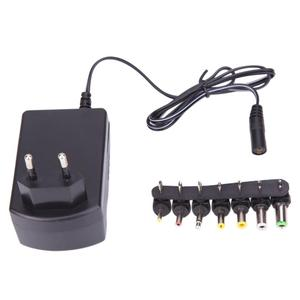 3.0A Universal AC 100/240V DC Adapter Converter 6 Plugs DC 3, 4.5, 6, 7.5, 9, 12 V 30 Power Charger EU(China)
