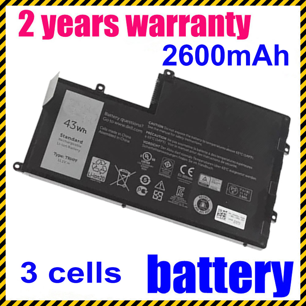 1V2F6 01v2f6 TRHFF Laptop Battery For Dell Inspiron 15 5000 15 5547 for Vostro 14-5480D for Latitude 3450 jigu laptop battery for dell 8858x 8p3yx 911md vostro 3460 3560 latitude e6120 e6420 e6520 4400mah