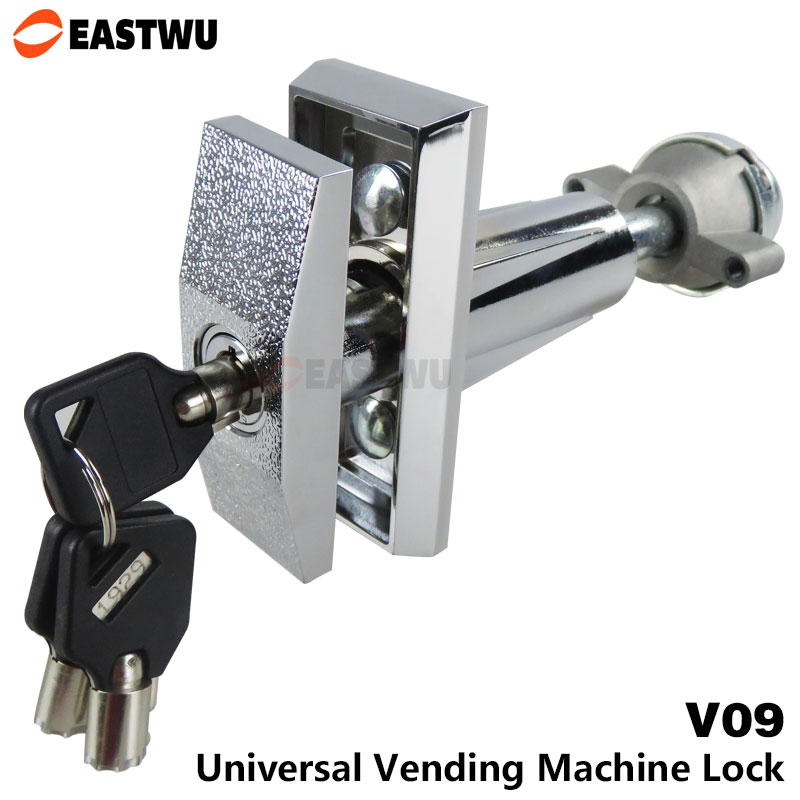 T Handle Vending machine + Pop up Tubular cylinder Lock w 3 keys Vendo vending machine lock serving coffee.drink and so on top designed 1pcs t handle vending machine locks snack vending machine lock tubular locks with 3pcs keys