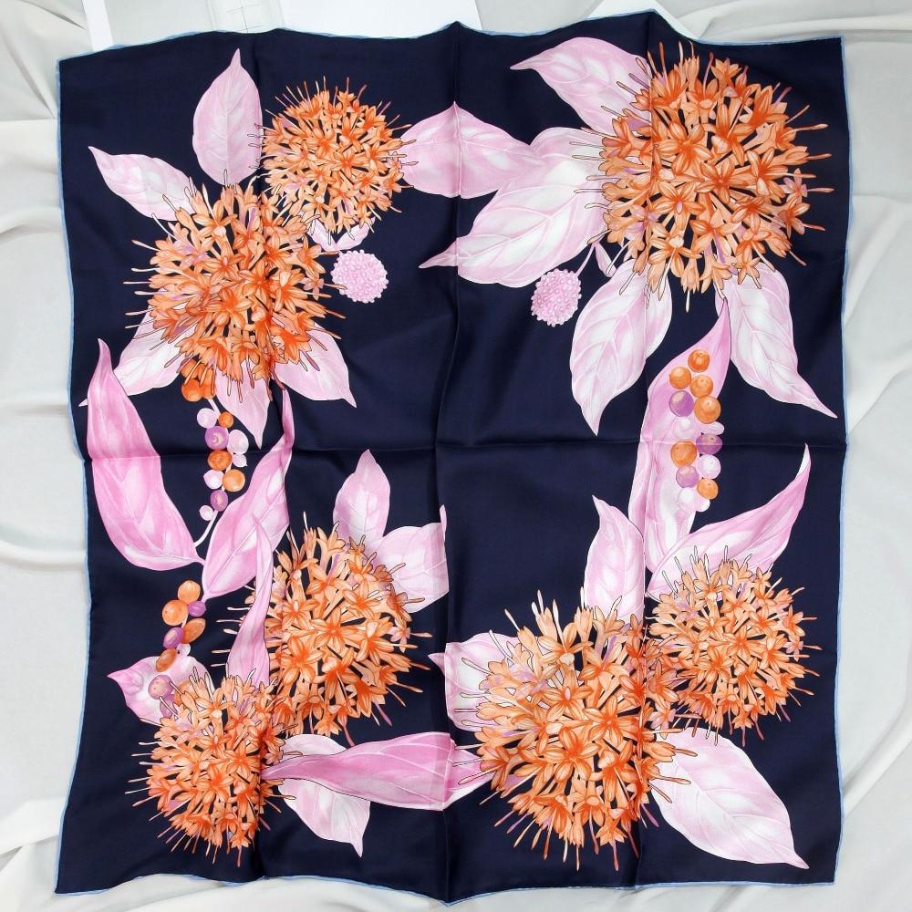 ELEGANT HANDMADE BRAND 100%Twill Silk Scarf TWIC-49929