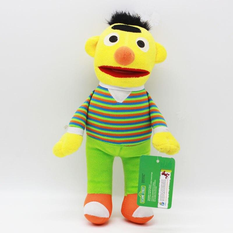 6345c5b1dc6 Skyleshine 2 stks/partij Sesamstraat Ernie En Bert Cartoon Knuffels  Creative Doll Knuffel Beste Geschenken S1010 in Skyleshine 2 stks/partij  Sesamstraat ...