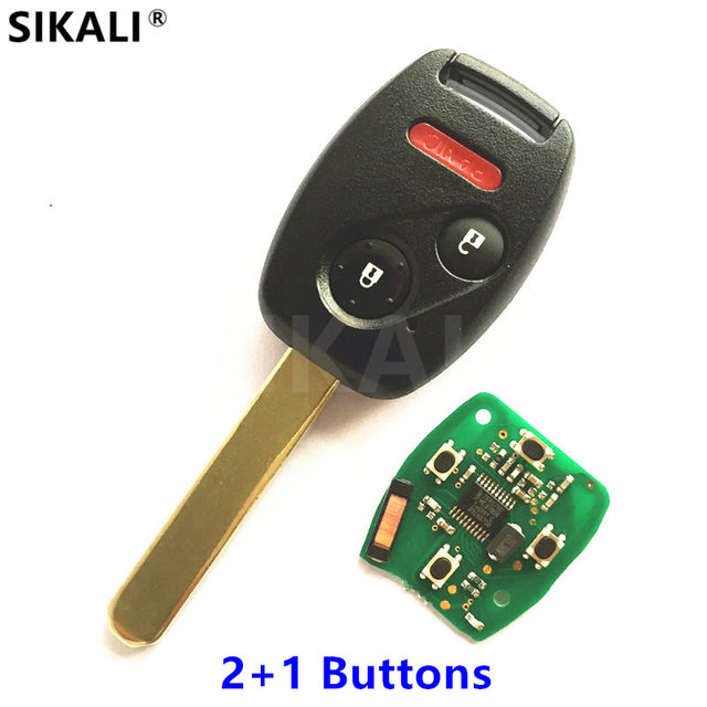 Online Shop Remote Key For S0087 A 433mhz For Honda Accord Element
