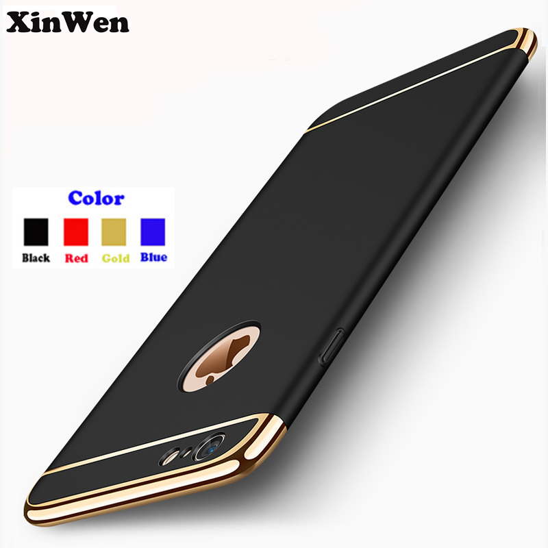 XinWen luxury Thin Shockproof Armor plastic mobile Phone hard Phone cover coque case for apple iphone 7 plus 7plus iphone7plus
