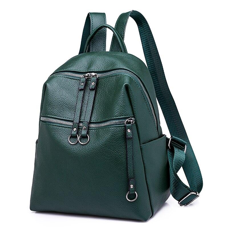Fashion Women Backpacks Pu Leather Backpack Shoulder Bag Daypack For Women Female Rucksack