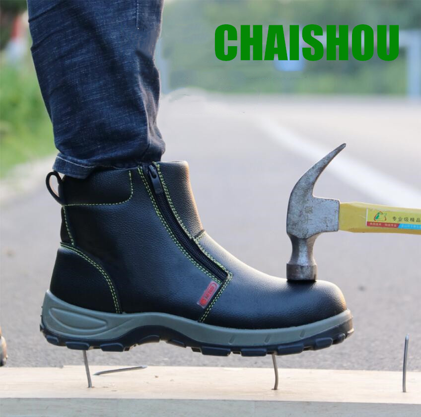 shoes men woman Work safety boots Genuine Leather Outdoor Steel Toe anti-piercing Multifunction Protection Ankle Boots CS-411shoes men woman Work safety boots Genuine Leather Outdoor Steel Toe anti-piercing Multifunction Protection Ankle Boots CS-411