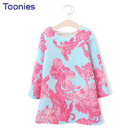 Autumn Winter Girl Dress Casual Girls Dresses Personalized New Design Baby Party Costumes Cute Princess O