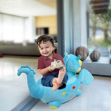 New Arrival Baby Sofa Seat Lovely Cartoon Children Small Sofa Chair Plush Dinosaur Stuffed Toy Stool 45 X 78cm 2 Colors 2018