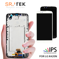 Tested 5.3 LG K420N LCD Display Touch Screen with Frame Digitizer Replacement K10 LTE K430 K430DS 420N LCD Tested Warranty