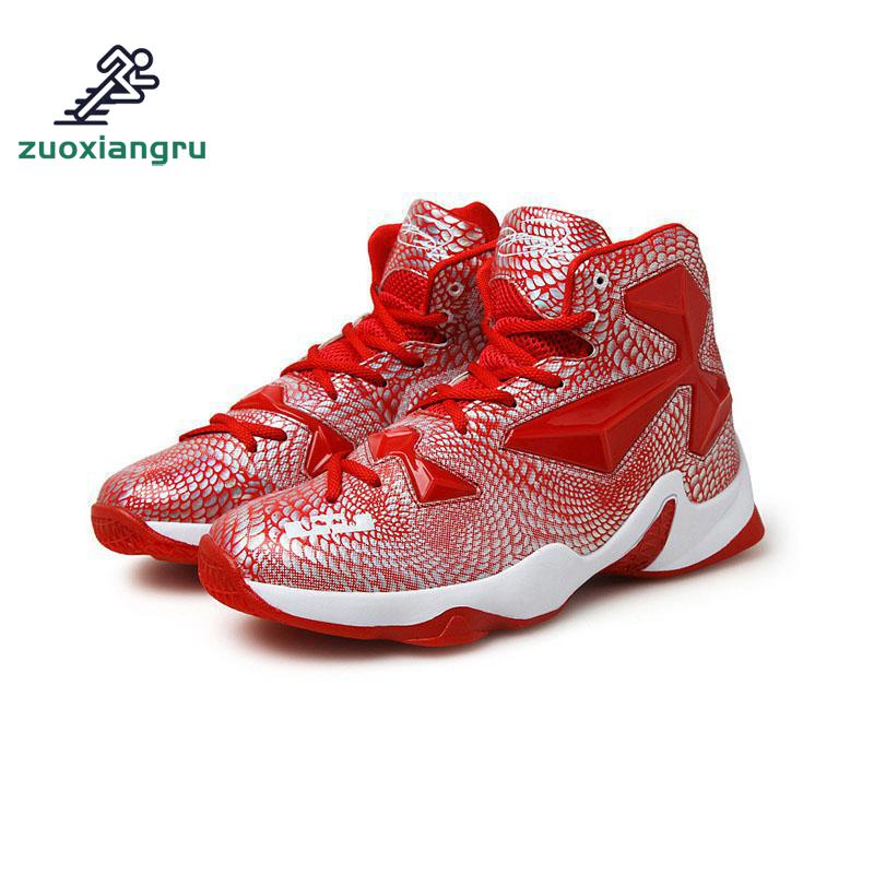 Zuoxiangru Mens High Quality Sneakers White Black Basketball Boots Outdoor Basketball Shoes Sneakers BasketballZuoxiangru Mens High Quality Sneakers White Black Basketball Boots Outdoor Basketball Shoes Sneakers Basketball