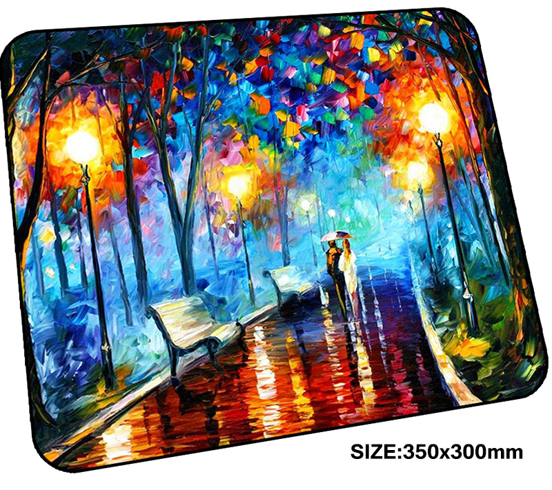 van gogh mousepad gamer 350x300x3mm gaming mouse pad High quality notebook pc accessories laptop padmouse HD print ergonomic mat ...