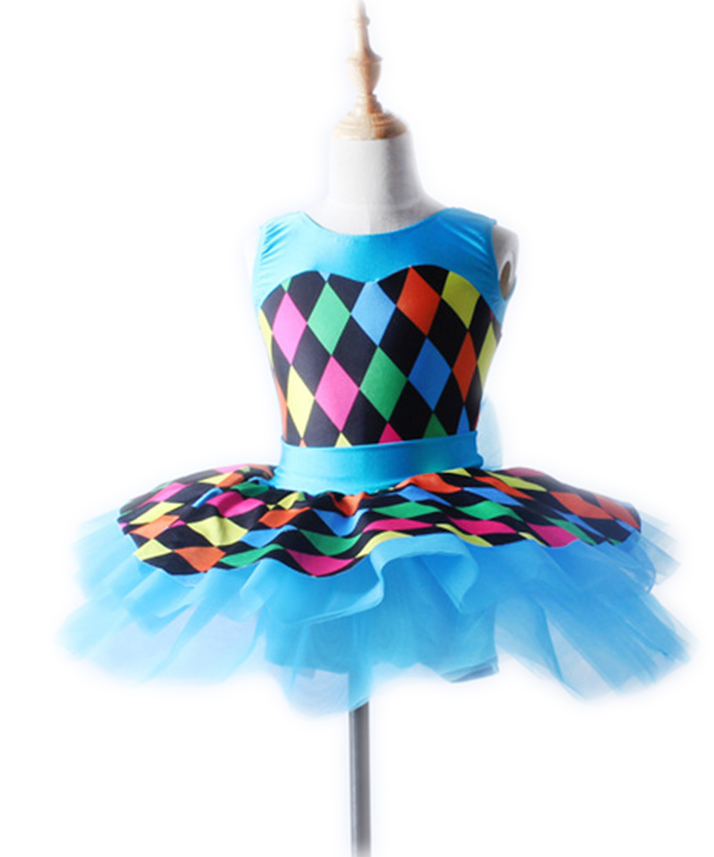 The New Children's Female Manufacturers Selling Ballet Skirt 2432 Performance Stage Dance Clothes