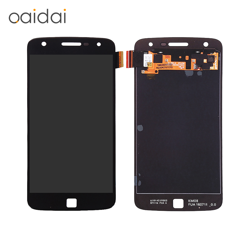 все цены на  For Moto Z Play Droid Xt1635 LCD Display Touch Screen For Motorola Mobile Phone Lcd  Assembly Replacement Parts Free Shipping  онлайн