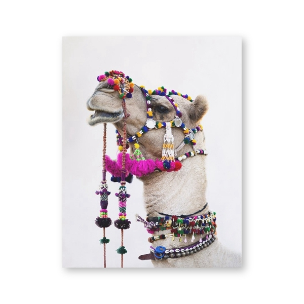 Camel Canvas Bohemian Poster Mawgie