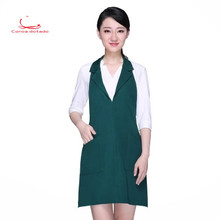 Fashion hanging neck suit collar apron princess european-style kitchen western dining room work clothes