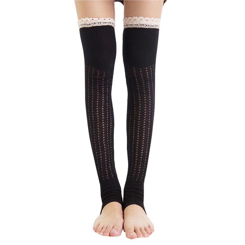 Top Damen Überknie Oberschenkel Hoch Stretch Mädchen Socken Schule Strümpfe