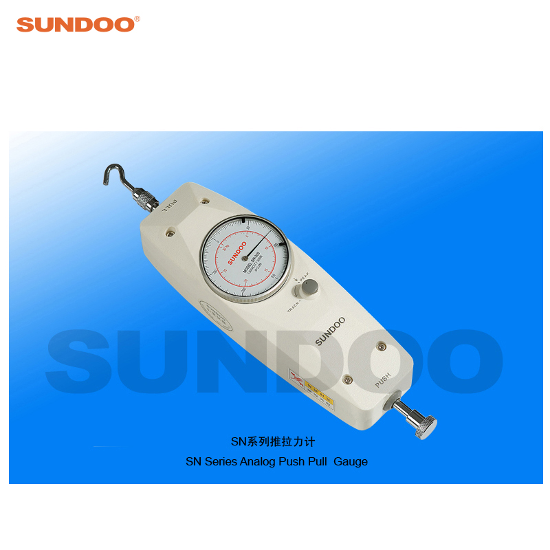 Sundoo SN-20 20N Analog Push Pull Gauge Force Meter tau 0826 dc 6v 12v24v keeping force 16n 20n pull