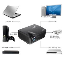 H1 HD Projector 3000ansi Lumens HDMI/USB/SD/DTV/AV/VGA Home Theater Zoom HD DVB-T Digital TV Projector 5.8 Single LCD + LED otha gm60 1000 lumens mini led projector for hd video games tv home theater movie support hdmi vga av sd portable proyector